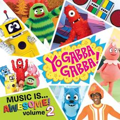 yo gabba gabba art | Yo Gabba Gabba Music Is Awesome! ... (2010) | Yo Gabba Gabba | MP3 ...