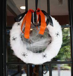Halloween Wreath for my front door. by louisa