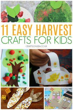 Harvest Crafts for Kids