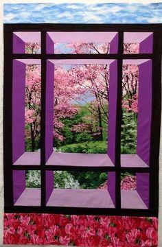 Botanic+Garden+WIndow+Quilt+Kit++at+Creative+Quilt+Kits