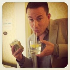 Blast from the past: Channing Tatum promoting Magic Mike. How cute is that face? Ahh love!