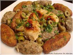 En Algérie, le Tajine Kefta est un plat présent dans les grandes occasions, mariages, circoncisions, fêtes religieuses, et il est présent durant le mois sacré du Ramadan, il est a base de viande. Je vais vous faire un mixe de deux recettes, le tajine...
