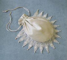 Bridal Handbag Wedding Purse Bride Reticule Money Bag