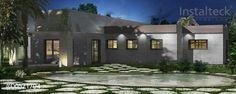 Instalteck, Modelo de casa modular 297 Valencia, precio modelos casas modulares…