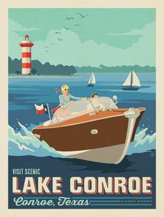 Anderson Design Group – American Travel – Conroe, TX: Lake Conroe