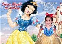 Printable Snow White Birthday Invitations