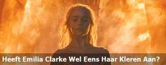 Emilia Clarke Weer Naakt In Game Of Thrones
