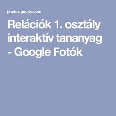 Relációk 1. osztály interaktív tananyag - Google Fotók