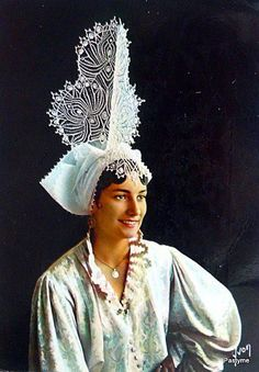 FolkCostume&Embroidery: Overview of the costumes of France, part 1. The…