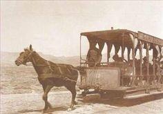 1869'da Şehremini Server Paşa, ilk kez atlı tramvayı İstanbullularla tanıştırdı.