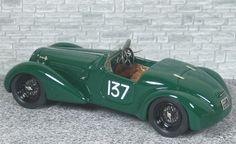 Alfa Romeo 6c 2300 Spyder Touring Mille Miglia 1938 #137 - Alfa Model 43