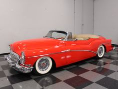 1953 Buick Skylark was a triumph of design American Classic Cars, Old Classic Cars, Vintage Trucks, Vintage Auto, 50s Cars, Buick Cars, Buick Skylark, Corvette, Cars Motorcycles