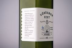Weninger Winery packaging by Gergő Gilicze, via Behance