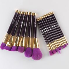 32.38$  Buy now - http://diqjz.justgood.pw/go.php?t=192705601 - Cosmetic 15 Pcs Nylon Facial Eye Makeup Brushes Set 32.38$