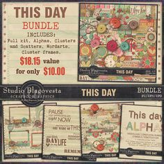 THIS DAY: BUNDLE By Blagovesta Gosheva