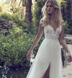 Birds of Paradise - Limor Rosen Bridal Couture. I love every dress in this collection!!
