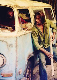 Hurley and Sawyer
