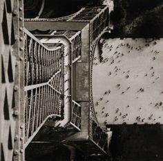 by Lucien Hervé  Eiffel Tower, Paris, 1944