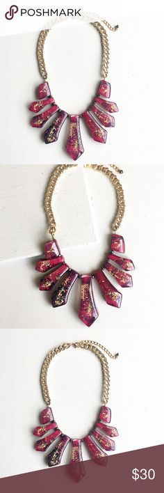 Gorgeous handmade necklace Burgundy handmade necklace. Not heavy Jewelry Necklaces