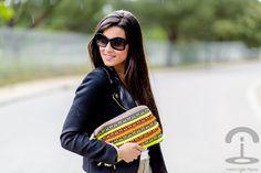 DIY Neon Handbag Crimenes de la Moda