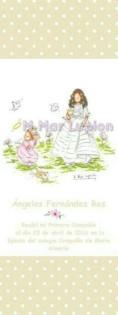#Marca páginas #comunion Blog, Illustrations, Blogging