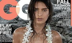 Thanks to a deal struck between Lands' End and Condé Nast, loyal Lands' End customers were treated recently to a free copy of the July issue of GQ—an issue which features model Emily Ratajkowski on the cover wearing only a lei.