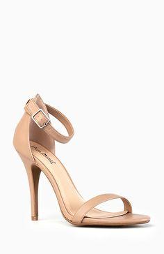 Simple Strap Heels | DAILYLOOK
