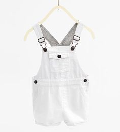 Short dungarees-TROUSERS-BABY BOY | 3 months-3 years-KIDS | ZARA United Kingdom