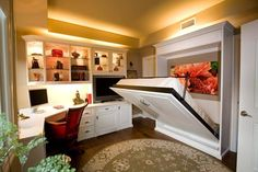 15 Ideas For A Multipurpose Office Work E Bedroom Officeextra Bedroomspare