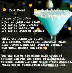 Jack Frost Martini