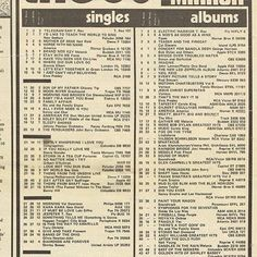 February 5th 1972  Record Mirror T.Rex Number 1 in both the singles and albums charts Get It On !