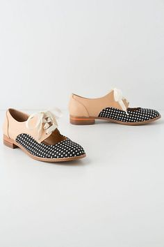 Olivia Cutout Oxfords #anthropologie
