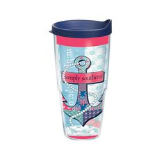 Simply Southern Anchor Patch Tervis 24oz