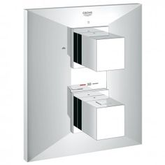 Grohe Allure Brilliant Thermostat with Integrated 2-way Diverter