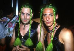 """A look back at NYC's wildest clubs of the 1990s, <a href=""""https://go.redirectingat.com?id=74679X1524629&sref=https%3A%2F%2Fwww.buzzfeed.com%2Fgabrielsanchez%2F30-photos-that-show-just-how-insane-the-90s-club-scene-reall&url=http%3A%2F%2Fgtty.im%2F2kz6q7K&xcust=4467056%7CBFLITE&xs=1"""" target=""""_blank"""">presented by Getty Images.</a>"""