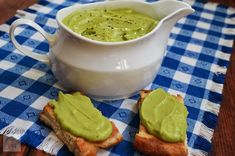 Sos de avocado - CAIETUL CU RETETE Avocado, Vegetarian Recipes, Pudding, Health, Desserts, Blog, Tailgate Desserts, Deserts, Lawyer