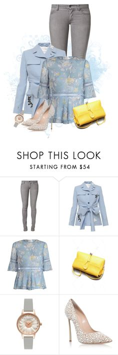 """Image the Spring"" by seafreak83 ❤ liked on Polyvore featuring Cheap Monday, Jonathan Saunders, Zimmermann, Olivia Burton and Casadei"