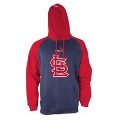 Men's Stitches St. Louis Cardinals Fleece Hoodie, Multicolor