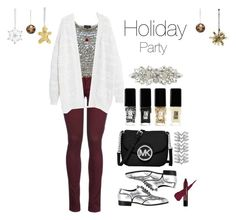 """""""This is a bit early"""" by diyaxox ❤ liked on Polyvore featuring 8, Topshop, Violeta by Mango, Giuseppe Zanotti, MICHAEL Michael Kors, Bling Jewelry, Deepa Gurnani, Jin Soon, Stella & Dot and Kelly Wearstler"""