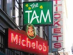 The Tam - Our stop after forgoing the Wilbur Theatre (Jim Gafigan)