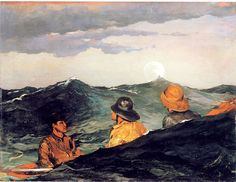 Winslow Homer 'Kissing the Moon'