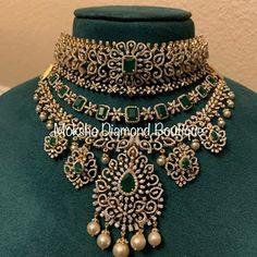 Wedding Jewellery Designs, Indian Wedding Jewelry, Gold Jewellery Design, Bridal Jewelry, Diamond Jewellery, Baby Jewelry, Diamond Choker, Diamond Bangle, Indian Bridal