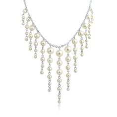 Statement in Pearl Necklace