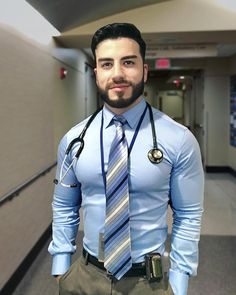 Mens Style Discover Hot doctor looking so handsome! Sharp Dressed Man, Well Dressed Men, Hunks Men, Hot Hunks, Beautiful Men Faces, Gorgeous Men, Hot Doctor, Formal Men Outfit, Stylish Mens Outfits