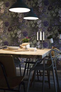 Julkkikset sisustaa kesän asuntomessuilla VOL2 | Asuntomessut Conference Room, Dining Table, Wallpaper, Furniture, Home Decor, Homemade Home Decor, Diner Table, Dinning Table Set, Wallpapers