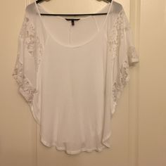 White top White soft comfortable VS top Victoria's Secret Tops Blouses