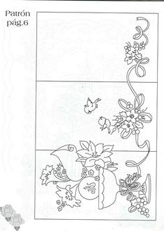 pergamano - Page 9 Quilling Patterns, Card Patterns, Embroidery Patterns, Quilt Patterns, Paper Art, Paper Crafts, Colouring Pages, Coloring Books, Embroidery