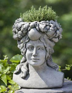 Google Image Result For Http://www.garden Fountains.com/. English GardensHead  PlantersStone ...