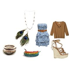 Hippie, chill out outfit., created by abby03 on Polyvore
