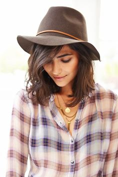 In need of a new PANAMA hat, my favorite style! Brixton Wesley Fedora - Urban Outfitters